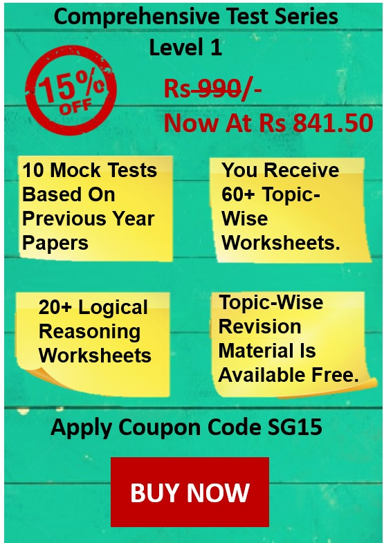 NSO 2019-20 Sample Papers (PDF) for Classes 1 to 10